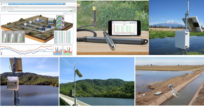 مانیتورینگ آنلاین و کنترل از راه دور پارامترهای آب عمق سنج